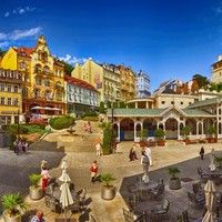 Karlovy Vary - amazing spa city in the North Bohemia. Join us for this fantastic day trip. Visit our website and book now !