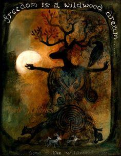 Wildwood Dream Limited edition giclee print