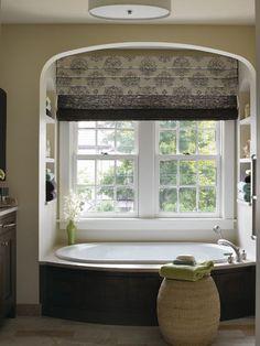 Bathroom Window Treatments On Pinterest Tubs Window Treatments And ...