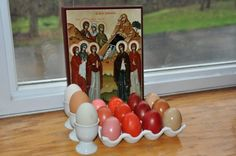 Different Dyes, Different Shades of Red for Pascha Eggs | Illumination Learning's Blog