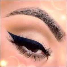 Navy Blue Liner - Hairstyles How To
