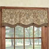 Hollyhock Gold Townsend Valance 52 x 16 Window Valance, Custom Drapes, Rustic Kitchen Design, Family Room, Home, Dining Room Combo, Living Room Windows, Curtains, Window Room