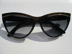 1 Sonnenbrille Cateye Retro Hippie Goa Brille Nerdbrille 50s 60s Vintage Neu n2