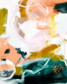 Midday Art Print by Patricia Vargas | Society6 #abstract
