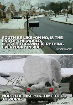 So true...I guess I need to move back to Oklahoma or Texas! lol