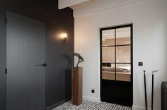 Home Decoration For Small House Referral: 3660011820 Steel Doors And Windows, Interior, Interior Inspiration, Interior Design Trends, Doors Interior, Home Decor, Living Room Interior, House Interior, Build A Closet