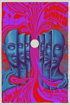 Who are this generation's psychedelic poster artists? Art Inspo, Inspiration Art, Arte Bar, Art Hippie, Mundo Hippie, Arte Dope, Art Du Collage, Illustration Photo, Plakat Design