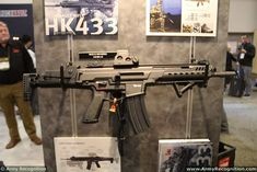 New HK433 5 56mm assault rifle ready to replace G36 of German army 925 001