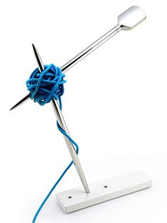 Table Lamp Needle by @Vitamin A Life Less Ordinary #design #knot