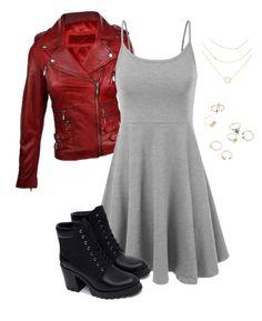 Wanda visual by misscreepyashell on Polyvore featuring polyvore fashion style Zara clothing