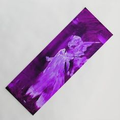 Guardian Angel - Purple Yoga Mat