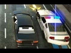 Game police persecution part 2, police vs cars, Games and videos for kid...