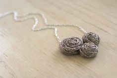 made to order - eisley necklace, polka-dot. - by Your Wishcake