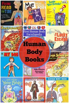 Teach your little ones about the human body with this great list of books! | embarkonthejourney.com
