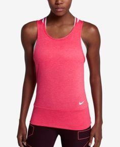 Nike Dry Racerback Tank Top - Red XL