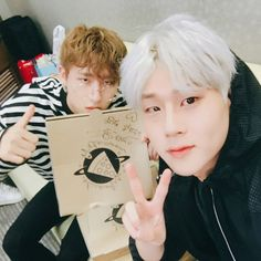 """(170622) slice.of.the.moon's Instagram update with Jooheon and I.M"""