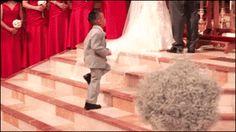 Wedding High Five.gif