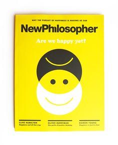 New Philosopher - Magazine covers on Behance