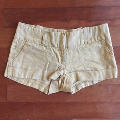 FINAL REDUCTION || Yellow Shorts || XS Yellow Shorts •Condition: Great. Lightly worn. •Brand: Forever 21 •Size: XS  ♡Shipping 1-2 business days✨ ♡Smoke-free closet ♡No trades ♡Make offers using the offer button only (Price will not be negotiated through comments) ♡Bundle! 10% for two or more items! ♡Comment if you have any questions! Forever 21 Shorts