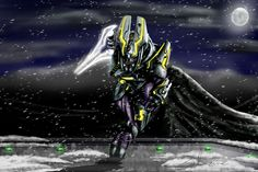 I did it in honor of my favorite species from the Halo franchise; the Elites. Probably took over Sangheili General - Covert Ops Halo Game, Halo 5, Odst Halo, Halo Armor, Halo Series, Halo Reach, Red Vs Blue, Cool Art, Awesome Art