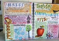 art journal ideas - Bing Images. Art Journaling journal inspiration #collage #art