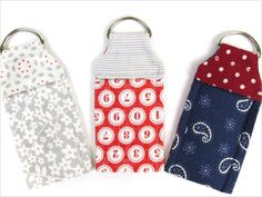Balm Holder 101 Clever Sewing Projects to Upcycle Fabric Scraps