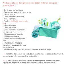 Productos básicos higiene bebé
