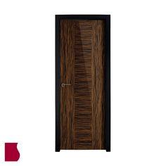 Modelo L3 ÉBANO ALTO BRILLO MADERA OSCURA / Colección Lisa / Puertas de interior Sanrafael