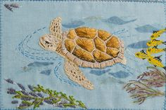 The Commonwealth of the Bahamas. Beautifully stitched postcards by the talented Malmesbury Branch of the Embroiderers' Guild.  http://www.embroiderersguild.com