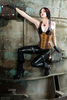 Steam Punk Girl 1 by ShadowDreamers