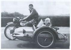 Norton sidecar rig zipping along Side Car, Dutch East Indies, Classic Bikes, Vintage Bikes, Advertising Poster, Vintage Motorcycles, Vintage Advertisements, Old Photos, Motorbikes