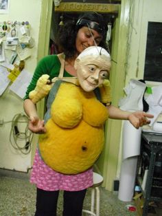 Lemonia - by Eva Nikiforou, Nevma theatre Puppets For Sale, Puppets For Kids, Puppet Costume, Marionette Puppet, Puppetry Theatre, Puppet Crafts, Puppet Making, Hand Work Embroidery, Soft Sculpture