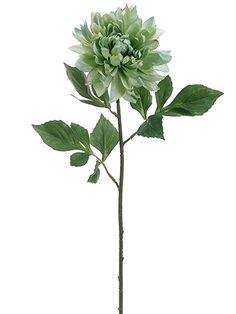 Dahlia Silk Flower i