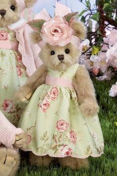 "Bearington Plush Bear ""Belinda Bloom"" 143197 New 09 Tag (05/21/2009)"