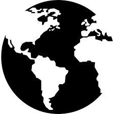 World Map  uBer Decals Wall Decal Vinyl Decor Art Sticker