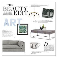 """GRACE"" by ironono ❤ liked on Polyvore featuring interior, interiors, interior design, home, home decor, interior decorating, CB2, Lala Berlin, Anja and Balmain"