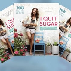I Quit Sugar: Your Complete Detox Program & Cookbook by Sarah Wilson, This book is awesome, just starting reading it! Don't agree with everything, but some very interesting information about sugar addiction, and how sugar affects weight loss! Sarah Wilson, Sugar Detox Diet, No Sugar Diet, Sugar Free Diet Plan, Carb Detox, Sugar Detox Plan, No Sugar Foods, Low Sugar, Detox From Sugar