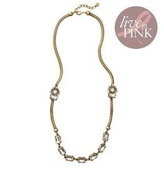 Live In Pink by Suzanna Dai Long Necklace #LOFT