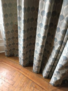 Full length curtains can either hover at floor height or sit above the floor - it's purely a personal choice. Of course, you can have them over long so they give a more informal feeling. Made To Measure Curtains, Soft Furnishings, This Is Us, Blinds, Flooring, Projects, Home Decor, Log Projects, Blue Prints
