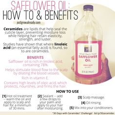 How to use and the benefits of safflower oil