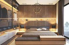 Trendy home bedroom decor closet 39 Ideas Luxury Bedroom Design, Modern Master Bedroom, Master Bedroom Design, Contemporary Bedroom, Home Decor Bedroom, Bedroom Ideas, Apartment Interior, Apartment Design, Home Interior