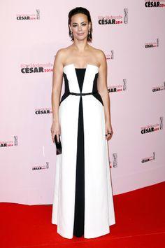 Le tapis rouge des César 2014 Bérénice Bejo.