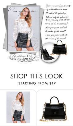 """""""SIMPLEEAPPAREL 6"""" by umay-cdxc ❤ liked on Polyvore featuring Dolce&Gabbana, Yves Saint Laurent and Once Upon a Time"""