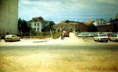 """Avenida Paulo VI em 1980. Foto: Jornal """"Região de Rio Maior""""   Portugal"""