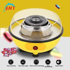 Mini Elektrische DIY Candy Floss Gesponnen Suiker Maker Machine Thuis Zoete Suiker Suikerspin Maker Voor Kids Familie Gift