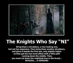 The knights who say Ni