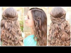 Easy Summer Hairstyle DIY | Celtic Knot Hair Tutorial - TrendSurvivor