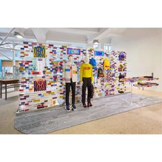 """DOVER STREET MARKET, London, UK, """"The Fendi Vocabulary brings its optimistic message with a limited edition capsule collection featuring the word LOVE"""", pinned by Ton van der Veer"""
