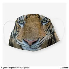 Shop Majestic Tiger Photo Cloth Face Mask created by ndjmom. Tiger Face Mask, Cat Face, Commute To Work, Photography Tips For Beginners, Shape Of You, Cat Gifts, Big Cats, Sensitive Skin, Cat Lovers