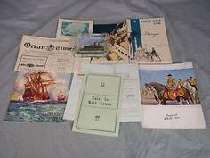 White-Star-Line-Cruises-Homeric-Memorabilia-Collection